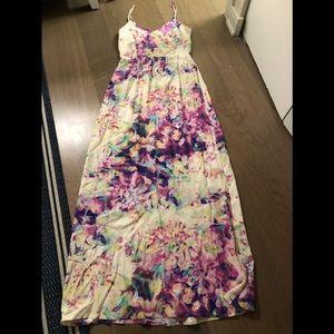 Parker maxi floral dress